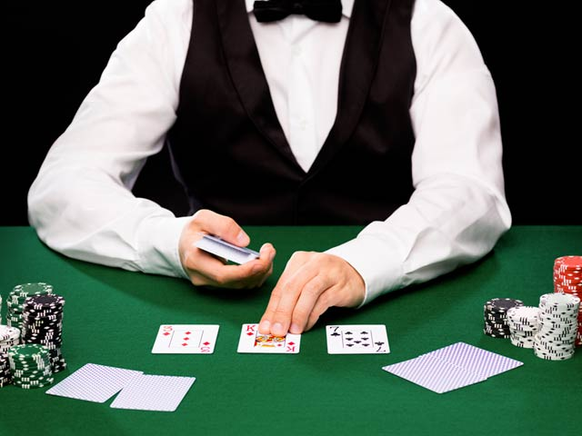 Blackjack mit Live-Dealer