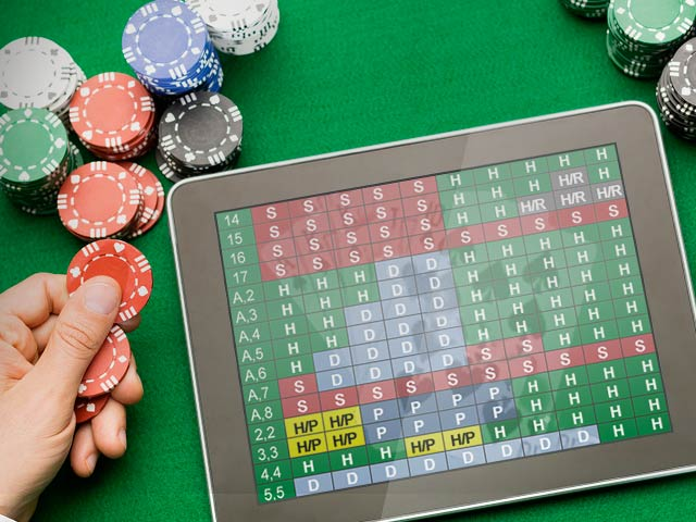 Tabelle der Basis-Blackjack-Strategien